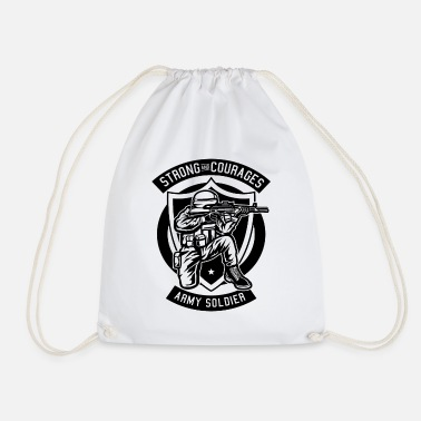 Soldier soldier - Drawstring Bag