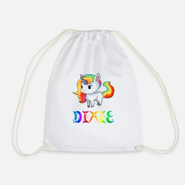 Dixie Unicorn Dixie - Drawstring Bag
