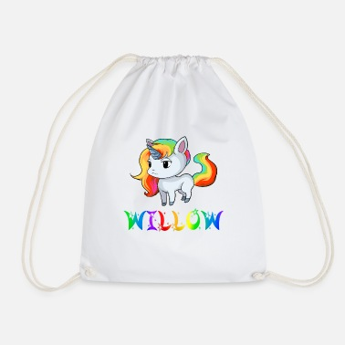 Willow Unicorn Willow - Drawstring Bag