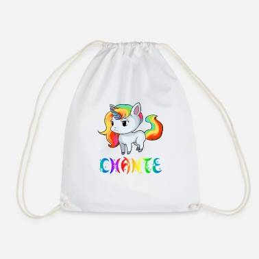 Chant Unicorn Chante - Drawstring Bag