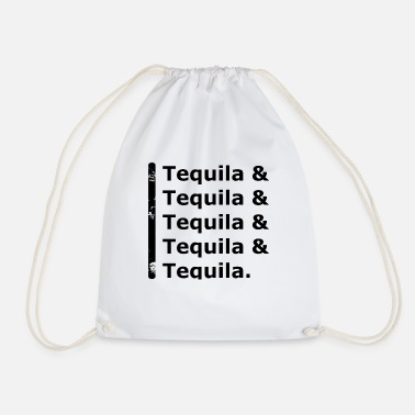 Tequila Tequila & Tequila - Drawstring Bag