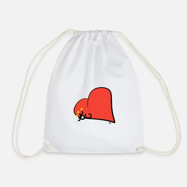 Cherish Cherish in the heart - Drawstring Bag