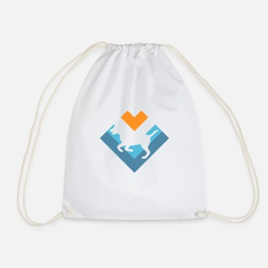 Playful Dogs Dogs playful - Drawstring Bag