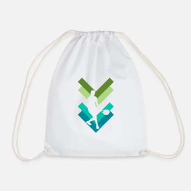 Tennis Player Tennis tennis player - Drawstring Bag