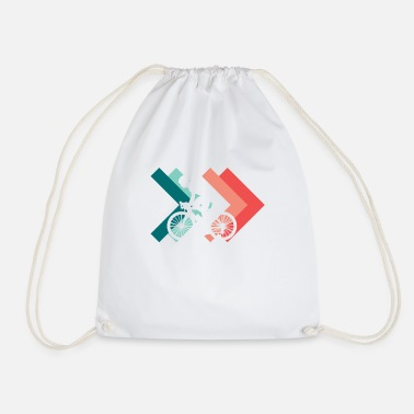 Wheel Wheel wheels - Drawstring Bag