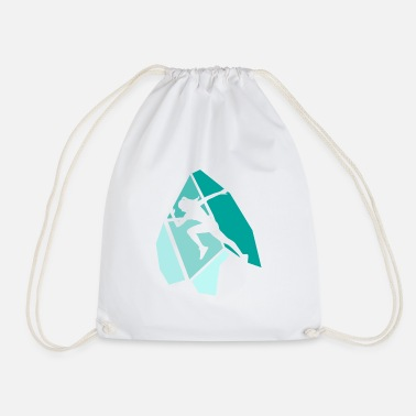 Sprinting Sprint - Drawstring Bag