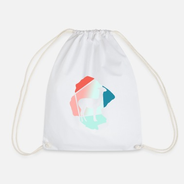 Lama Serengeti - Drawstring Bag