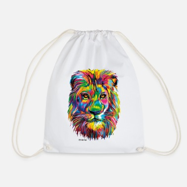 PD Moreno Lion coloré - Sac à dos cordon
