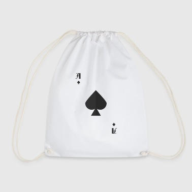 Ace Of Spades Halloween Costume Card Funny - Drawstring Bag