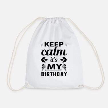 Birthday Greeting Birthday greeting Congratulations - Drawstring Bag