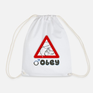 Obey Man obey - Drawstring Bag