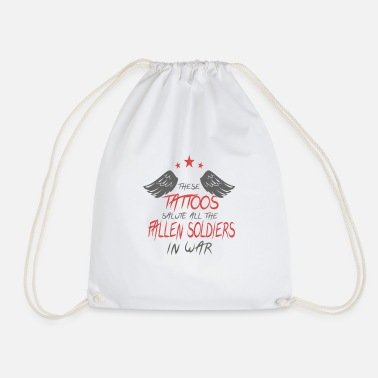 Veteran veterans - Drawstring Bag