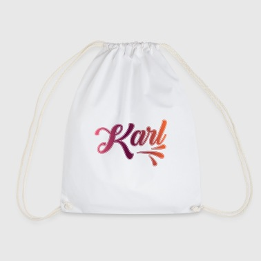 Karl - Drawstring Bag
