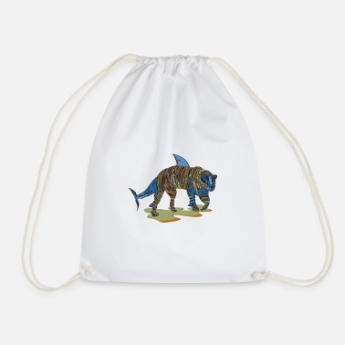 Tiger Shark Tiger shark hybrid - Drawstring Bag