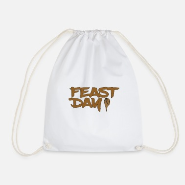 Feast Day feast day - Drawstring Bag