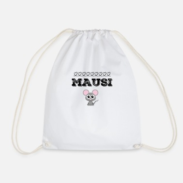Mouse Mausi mouse mouse - Drawstring Bag