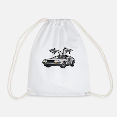 cf001d31227 DeLorean vintage klassisk bil klassisk bil - Gymnastiktaske
