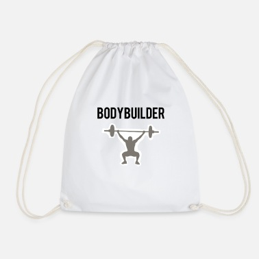 Body Builder body builder - Drawstring Bag