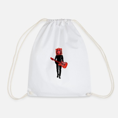 &amp Amplifier amp guitarist gift idea - Drawstring Bag