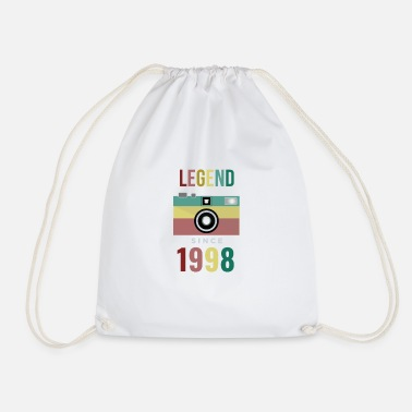 Legend since 1998 birthday t-shirt - Gymtas