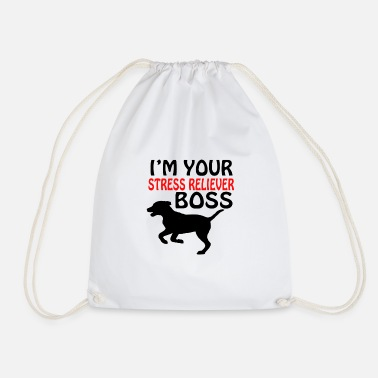 Hunde Dog stress reliever boss - Turnbeutel
