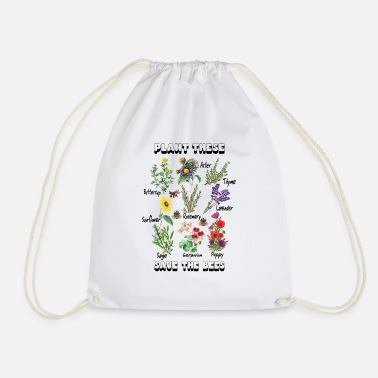 Save The Bees Planta estos Save The Bees Camiseta Save The Bees - Mochila saco