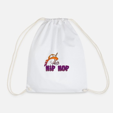 Hop Hip Hop Unicorn - Gymtas