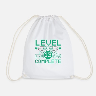 Level 13 Complete 13th Birthday Children's Gaming - Drawstring Bag