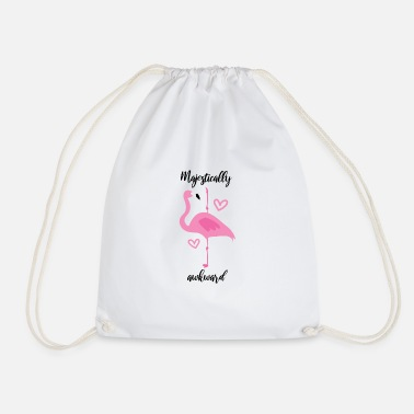 Foot Flamingo Lovers Gift - Drawstring Bag