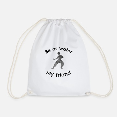 Wingtsun Be as water - Drawstring Bag