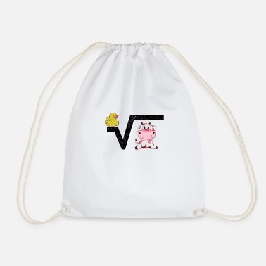 Pulling Roots Honorary Teacher I School Uni Elementary School Vocational School - Drawstring Bag