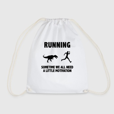 Run Run Running Motivation Shirt & Gift - Drawstring Bag