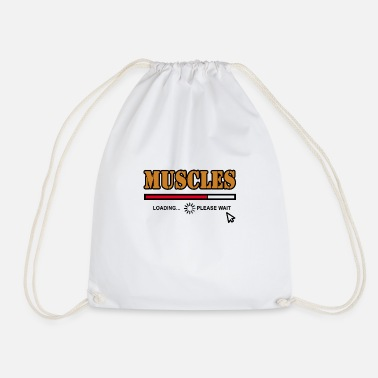 Muscle muscles - Drawstring Bag
