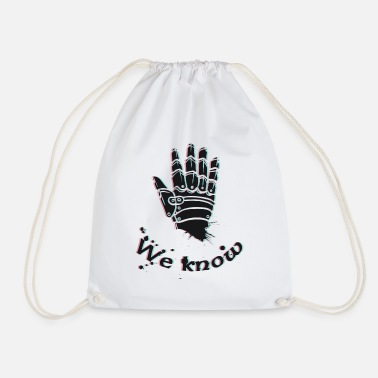 Skyrim We know Skyrim - Drawstring Bag