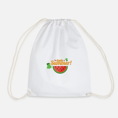 Summer Weather Summer Weather Melon - Taste of Summer Gift - Drawstring Bag