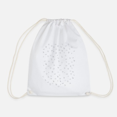 Coffee, filter, bean, cup, mill, cooker - Drawstring Bag