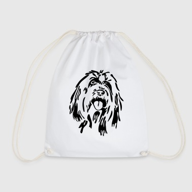 Bearded Collie - Drawstring Bag