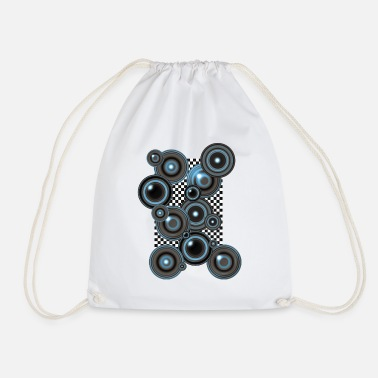Op Art Op Art 3 - Drawstring Bag