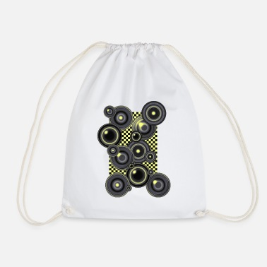 Op Art Op Art 5 - Drawstring Bag