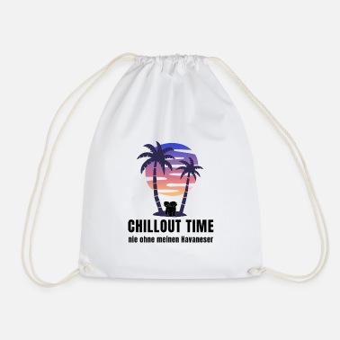 Chance Chillout Time Never without my Havanese gift - Sac à dos cordon