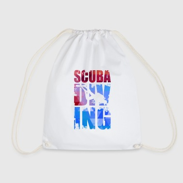 Scuba diving. - Drawstring Bag