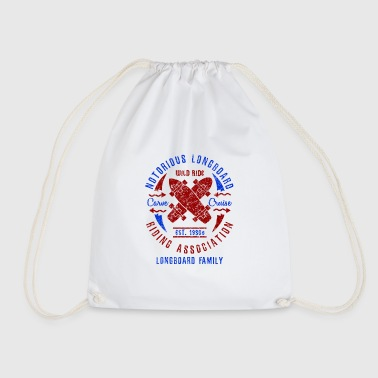 Notorious Longboard Riding Association - Drawstring Bag