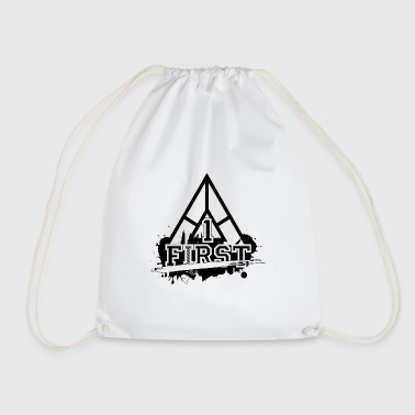 cool varsity design - Drawstring Bag