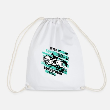 Jumping Jumping Jump! - Drawstring Bag