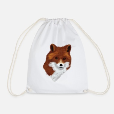 Scamp fox - Drawstring Bag