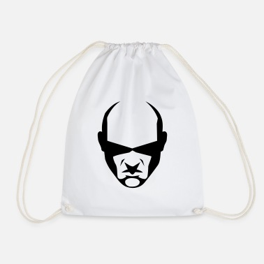 balded head - Drawstring Bag