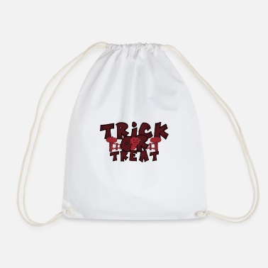 Trick Or Treat Halloween Trick or Treat Trick or treat - Drawstring Bag