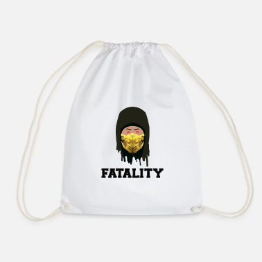 Kombat Scorpion Fatality Mortal Kombat - Drawstring Bag