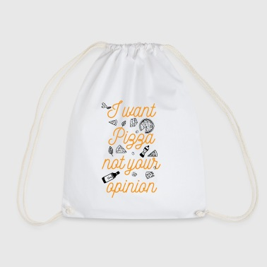 Pizza - Drawstring Bag