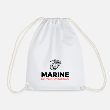 Marine in the Making - Drawstring Bag